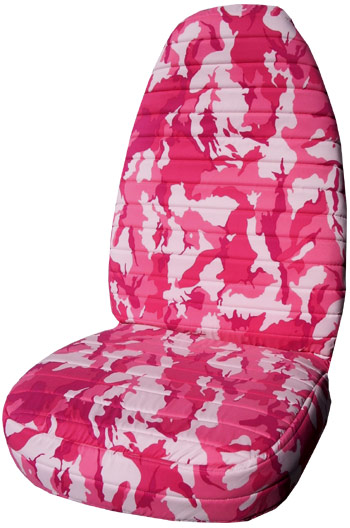 PINK CAMO COUTURE CAR SEAT COVERS