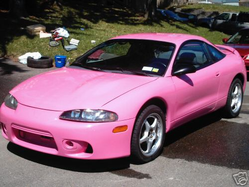 Car Auctions Ny >> HOT Pink Mitsubishi Eclipse RS | PinkCarAuction