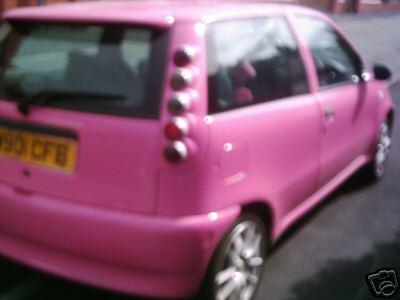 Fiat Pinkcarauction